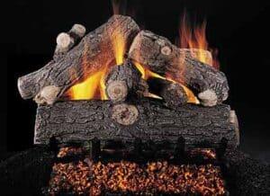 gas logs 4