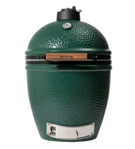large sized green egg closed