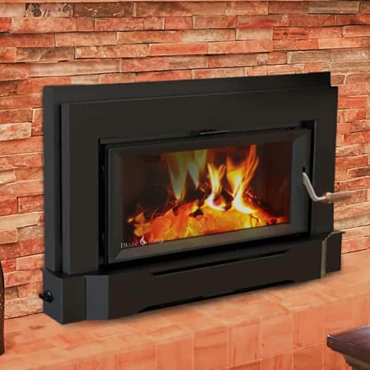 blaze king sirocco wood fireplace insert