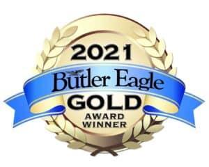 butler Eagle 2021 Gold Award