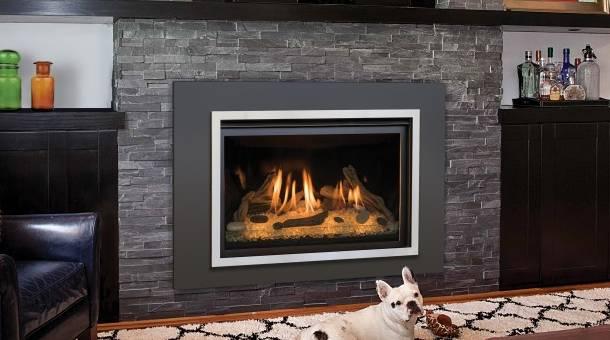Chaska gas fireplace insert