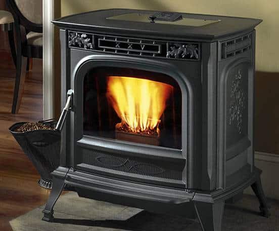 Harman wood pellet stove