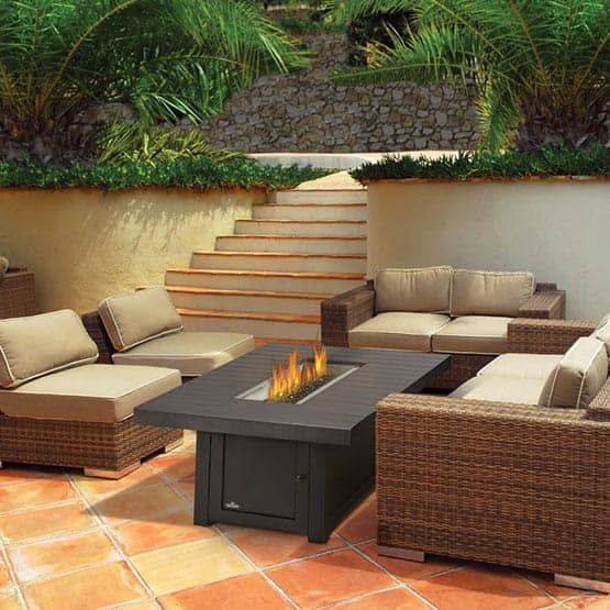 napoleon outdoor fire table