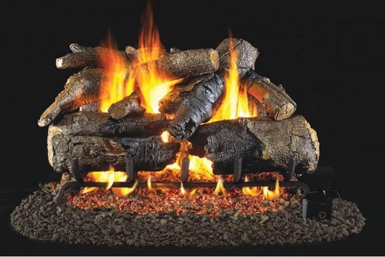 Premium quality gas logs