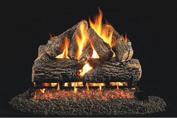 GL Charred Oak logs RS