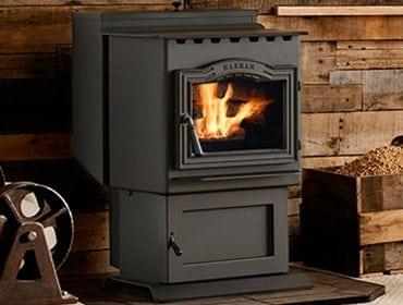 Harman P43 wood pellet stove