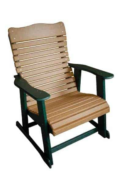 stationary chair charmback