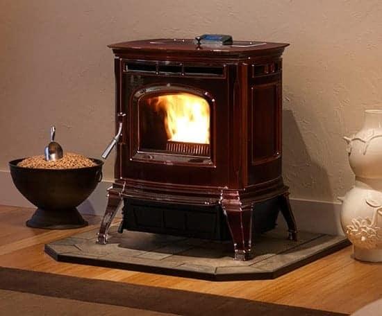 Harman pellet stove Absolute43-Majolica