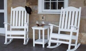 Plantation Rockers with hat