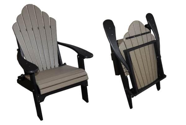 folding chair fancy back