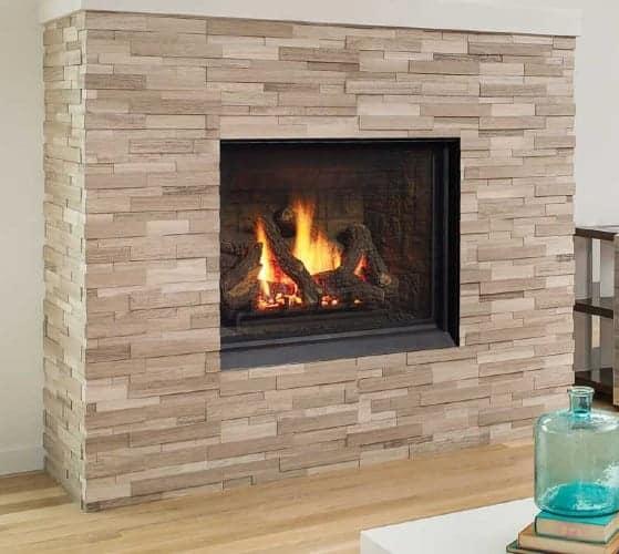 Regency B36XTCE gas fireplace with castlestone