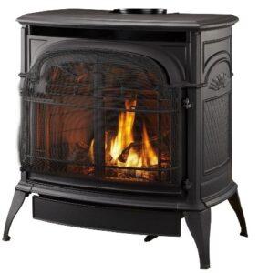 stardance gas stove black