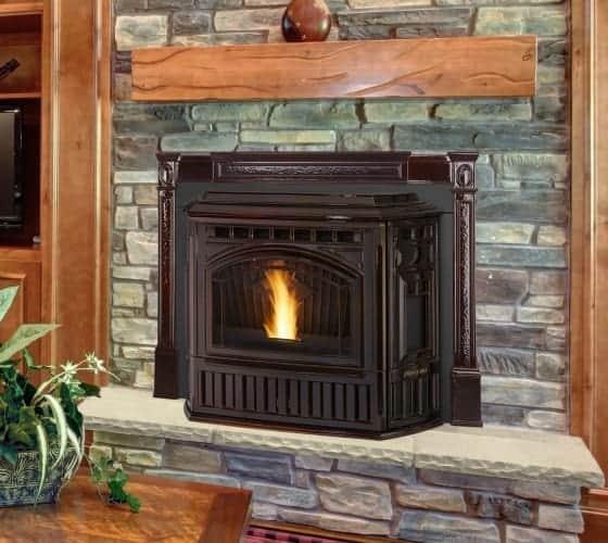 quadra-fire trekker wood pellet insert