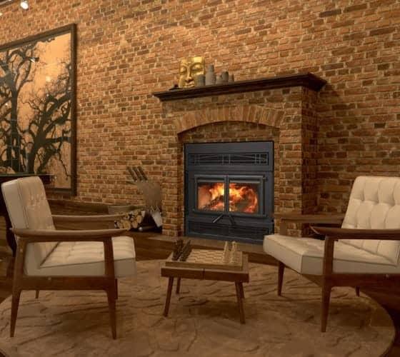kozy heat z42 cd wood burning fireplace