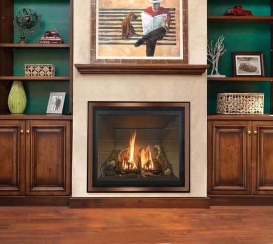 energy-efficient gas fireplaces