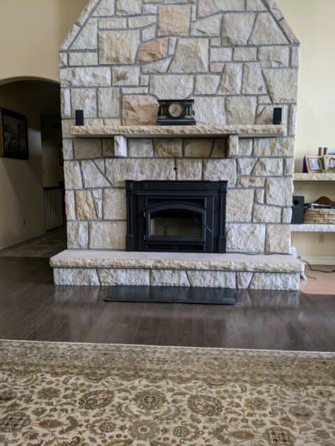 Quadra-Fie wood burning insert